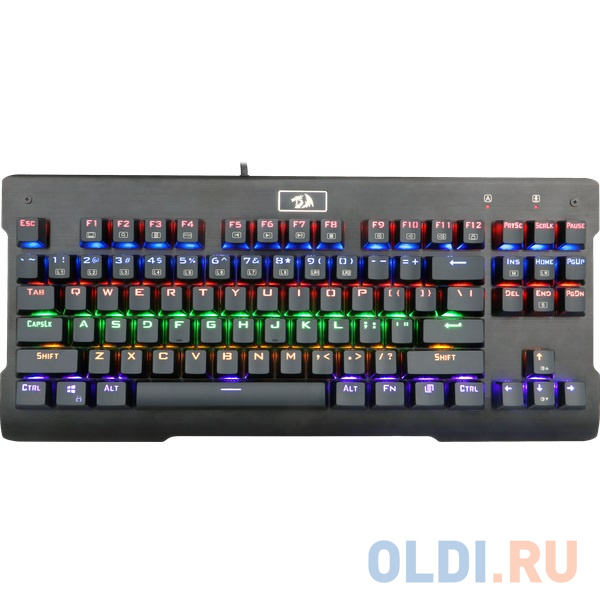 Фото - Клавиатура Redragon Visnu Rainbow Black USB клавиатура redragon aryaman black usb