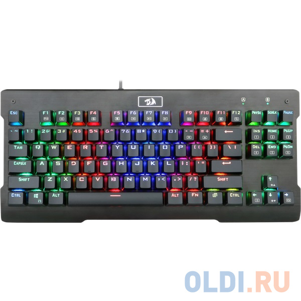 Фото - Клавиатура Redragon Visnu RGB Black USB клавиатура redragon aryaman black usb
