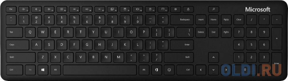 Фото - Клавиатура беспроводная Microsoft Keyboard Bluetooth черный QSZ-00011 microsoft xbox360
