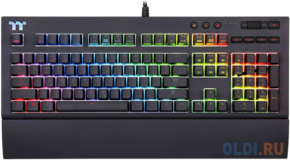 Thermaltake Клавиатура игровая Tt eSPORTS X1 RGB Cherry MX Gaming