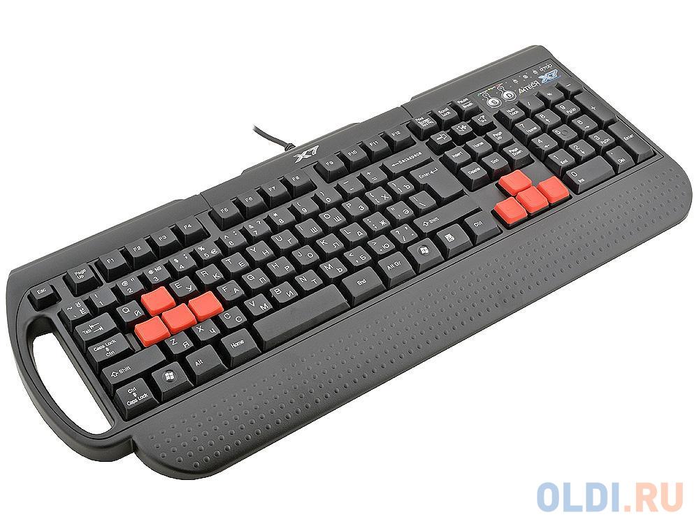 Клавиатура проводная A4TECH X7-G700 PS/2 черный недорого