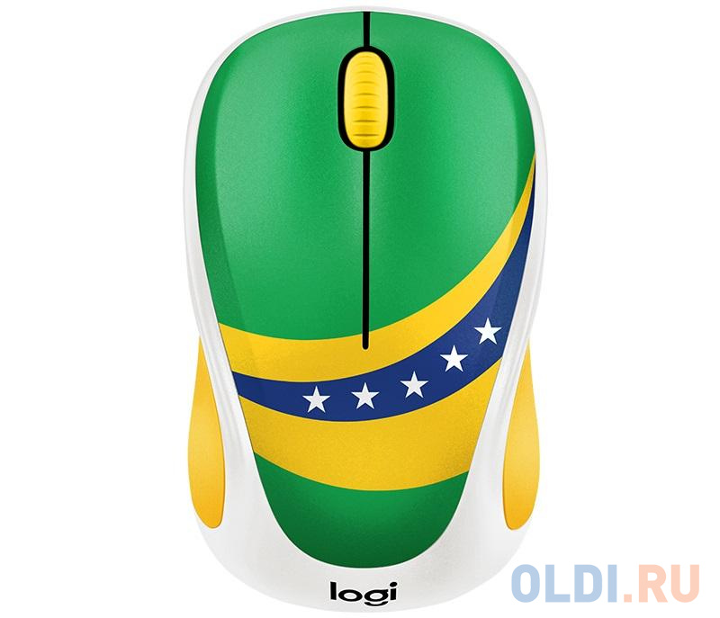 Мышь (910-005398) Logitech Wireless Mouse M238 Fan Collection BRAZIL мышь 910 005398 logitech wireless mouse m238 fan collection brazil