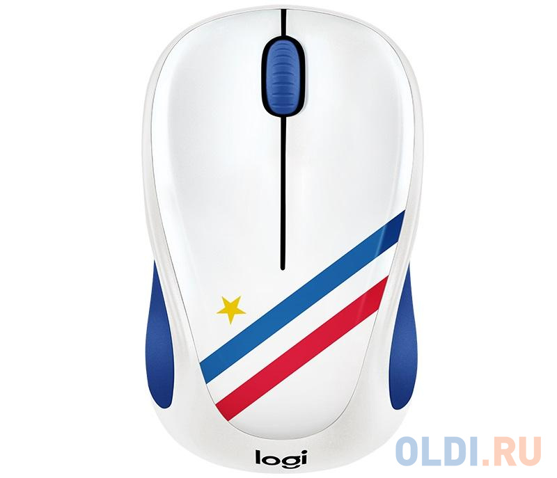 Мышь (910-005404) Logitech Wireless Mouse M238 Fan Collection FRANCE мышь 910 005398 logitech wireless mouse m238 fan collection brazil