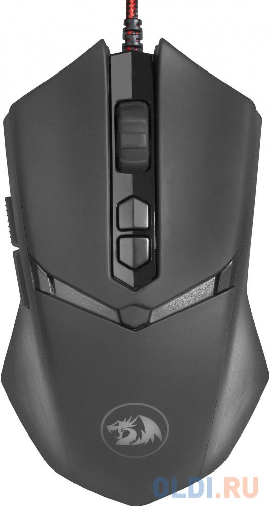 Мышь проводная игровая Redragon Nemeanlion 2 оптика,RGB,7200dpi