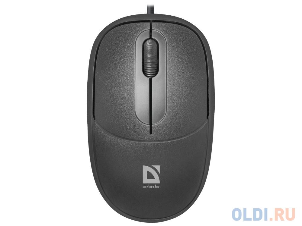 Мышь Defender Datum MS-980 Black USB фото