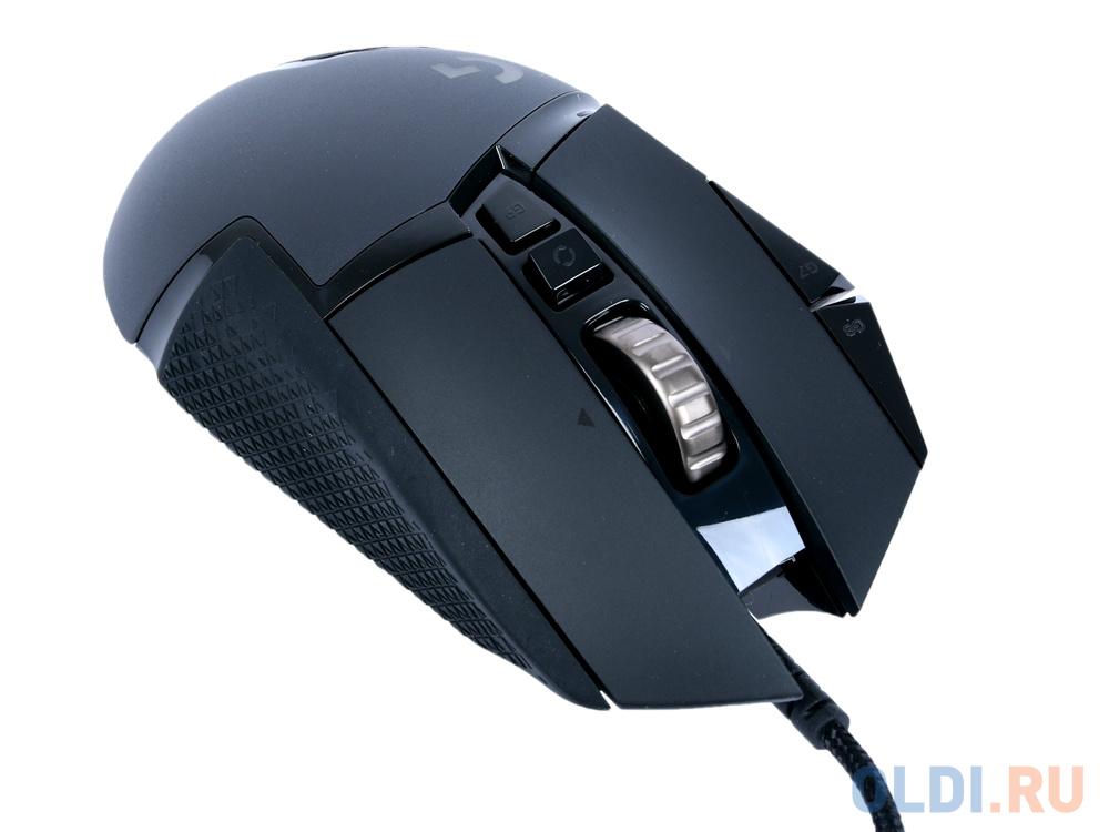 Мышь проводная Logitech G502 HERO USB чёрный мышь logitech g502 lightspeed