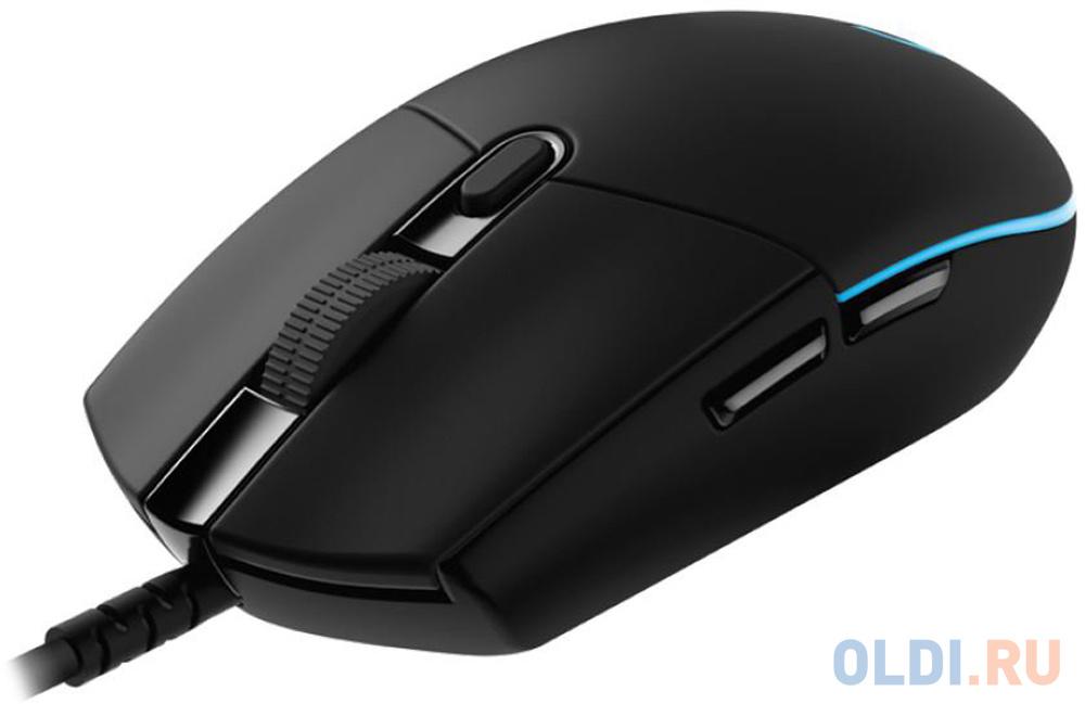 Мышь (910-005440) Logitech G PRO Wired Gaming Mouse LIGHTSPEED 100-16000dpi HERO мышь 910 005282 logitech g305 wireless gaming mouse lightspeed 12000dpi