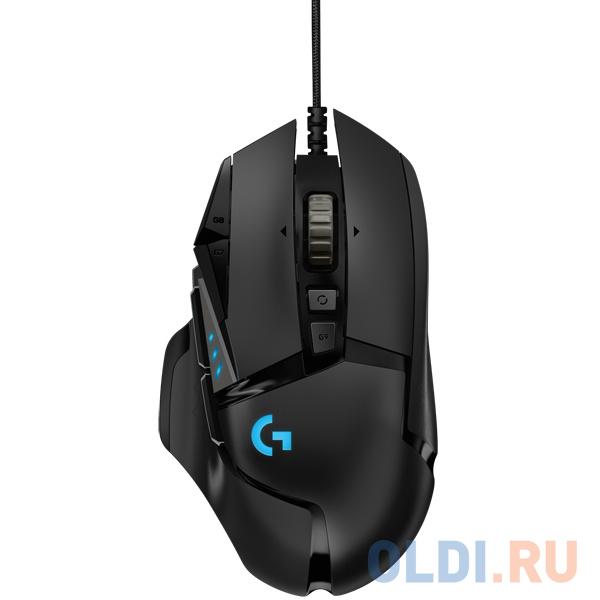 Мышь (910-005567) Logitech G502 Gaming Mouse LIGHTSPEED 16000dpi HERO мышь 910 005282 logitech g305 wireless gaming mouse lightspeed 12000dpi