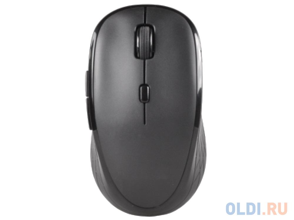 Мышь беспроводная CBR CM-544 Black USB(Radio) мышь cbr simple s1 white black usb