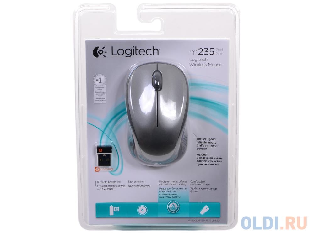 Мышь Logitech Wireless Mouse M235 (910-003146) Colt Glossy фото