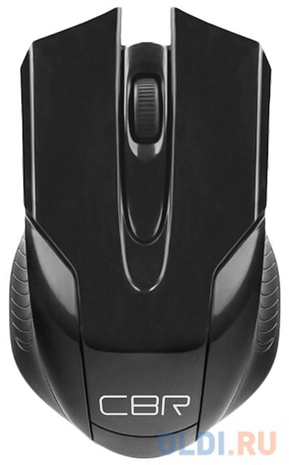 Фото - Мышь беспроводная CBR CM 403 Black, оптическая, 2,4 ГГц, 800/1200/1600 dpi, 6 кнопок и колесо прокрутки, ABS-пластик, цвет чёрный мышь проводная cbr cm 131 оптическая usb 800 dpi abs пластик 3 кнопки и колесо прокрутки длина кабеля 2 м цвет чёрный