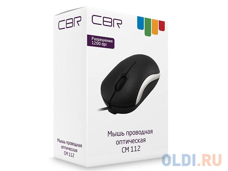 Мышь CBR CM 112 Silver USB мышь cbr simple s1 white black usb