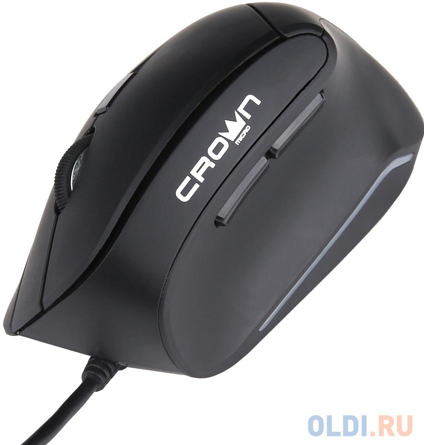 Фото - Мышь проводная Crown CMM-960 Health чёрный USB мышь проводная crown cmm 960 health чёрный usb