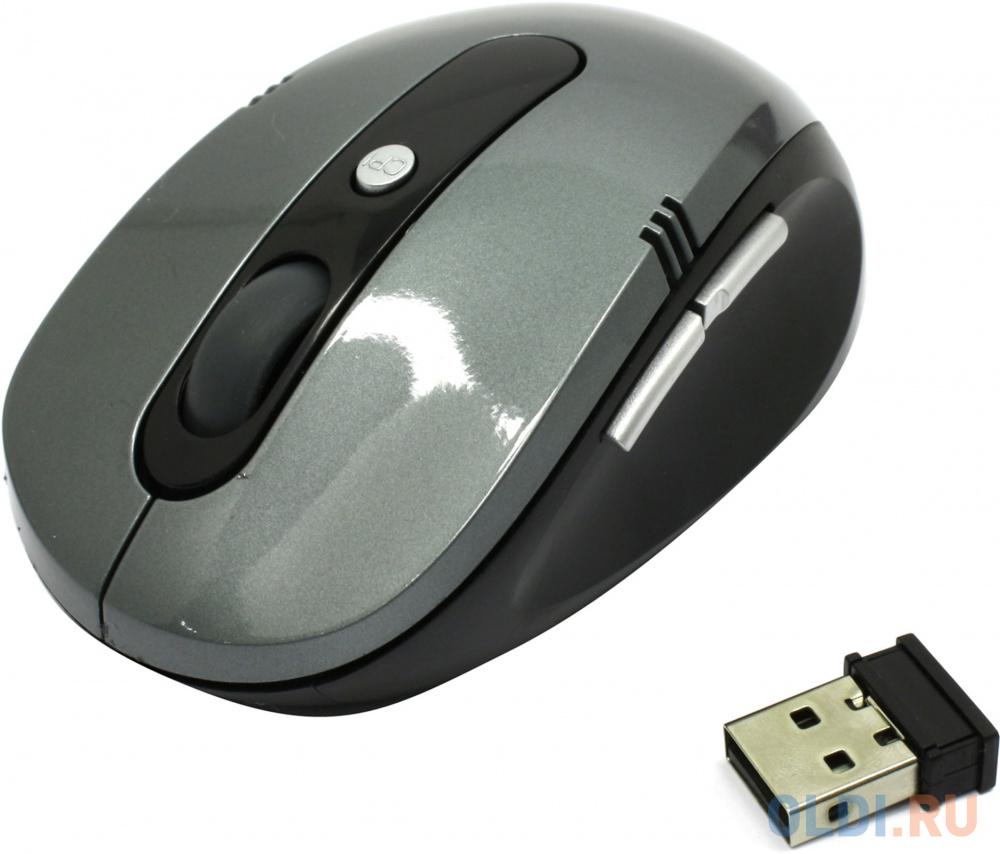 Мышь беспроводная CBR CM 500 серый USB