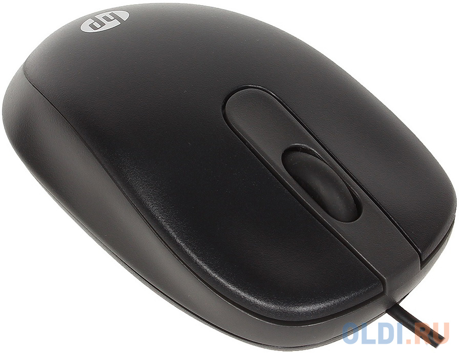 Мышь проводная HP G1K28AA чёрный USB
