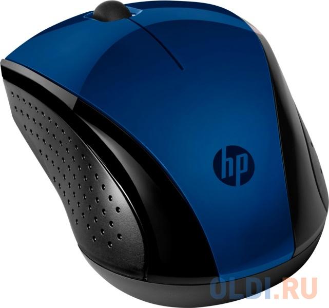 Мышь беспроводная HP Wireless 220 USB + радиоканал синий 7KX11AA hp 15 da0052ur синий