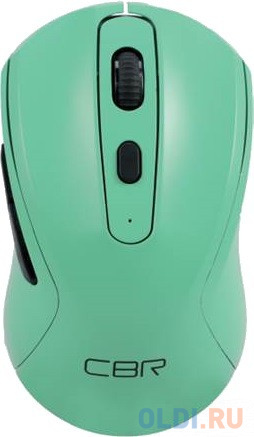 Мышь беспроводная CBR CM 522 зелёный USB + радиоканал мышь cbr cm 150 blue usb