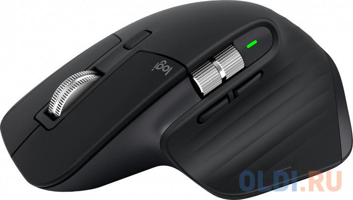 Фото - Мышь беспроводная Logitech MX Master 3 чёрный Bluetooth мышь logitech mx master 3 черный