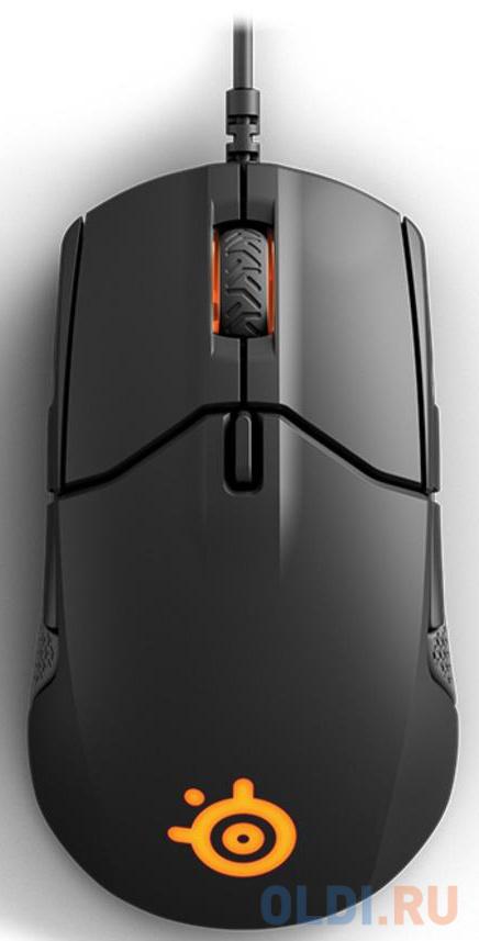 Мышь проводная Steelseries Sensei 310 чёрный USB мышь проводная steelseries sensei 310 чёрный usb