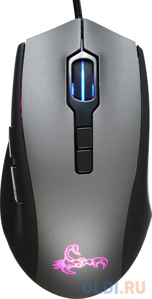Мышь Oklick 985G SCORPION черный
