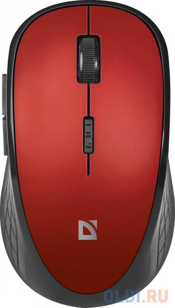 Мышь беспроводная Defender MM-415 красный USB + радиоканал