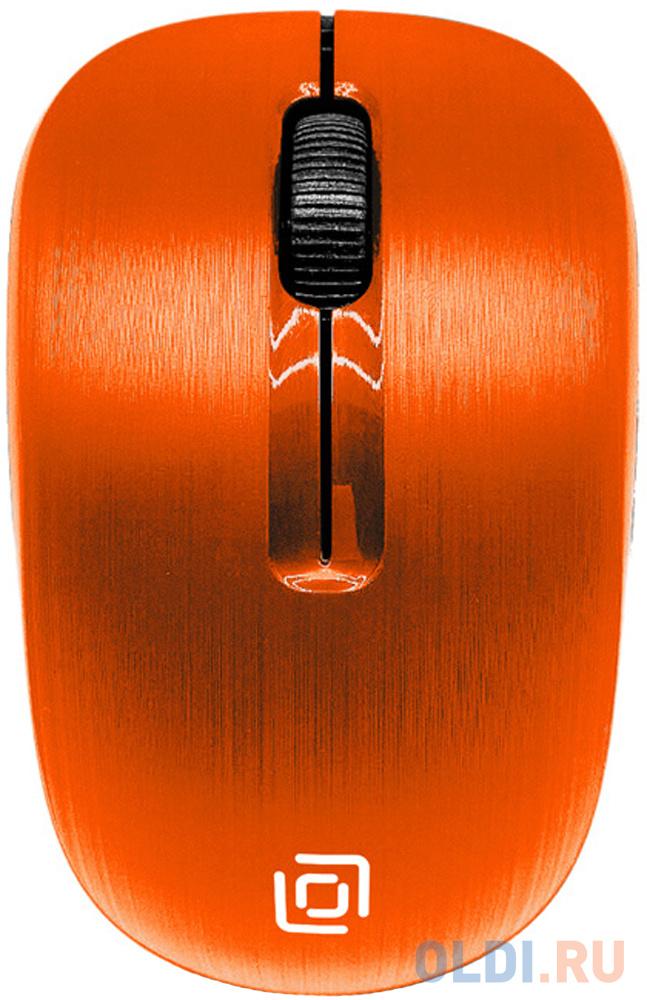 Фото - Мышь Oklick 525MW оранжевый оптическая (1000dpi) беспроводная USB (2but) мышь oklick 665mw оптическая черная