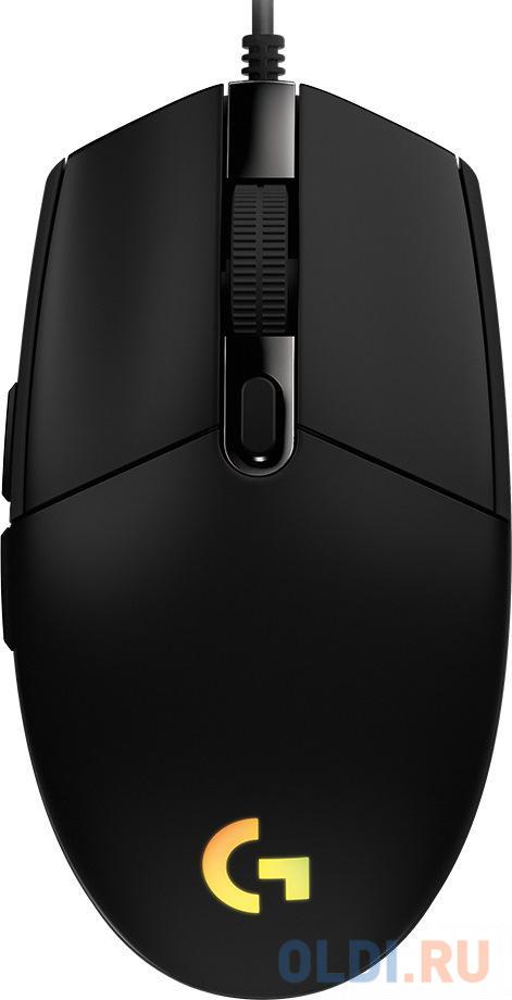 Фото - Logitech Mouse G102 LIGHTSYNC Gaming Black Retail мышь logitech g102 lightsync black usb