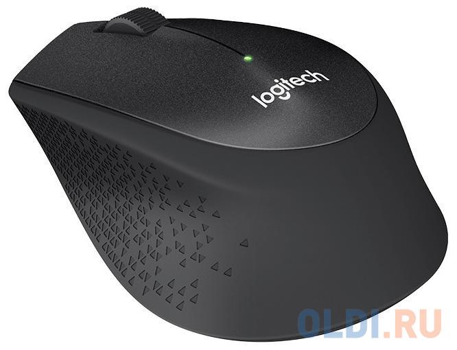 Мышь (910-004909) Logitech Wireless Mouse M330 SILENT PLUS Black