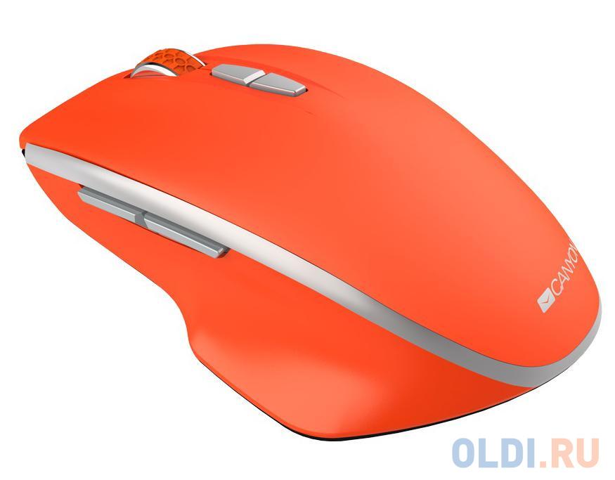 Фото - Мышь беспроводная Canyon MW-21 красный USB CNS-CMSW21R беспроводная мышь canyon mw 21 оливковый
