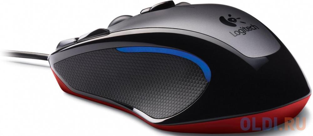 Мышь (910-004345) Logitech Gaming Mouse G300s USB оптическая 2500dpi