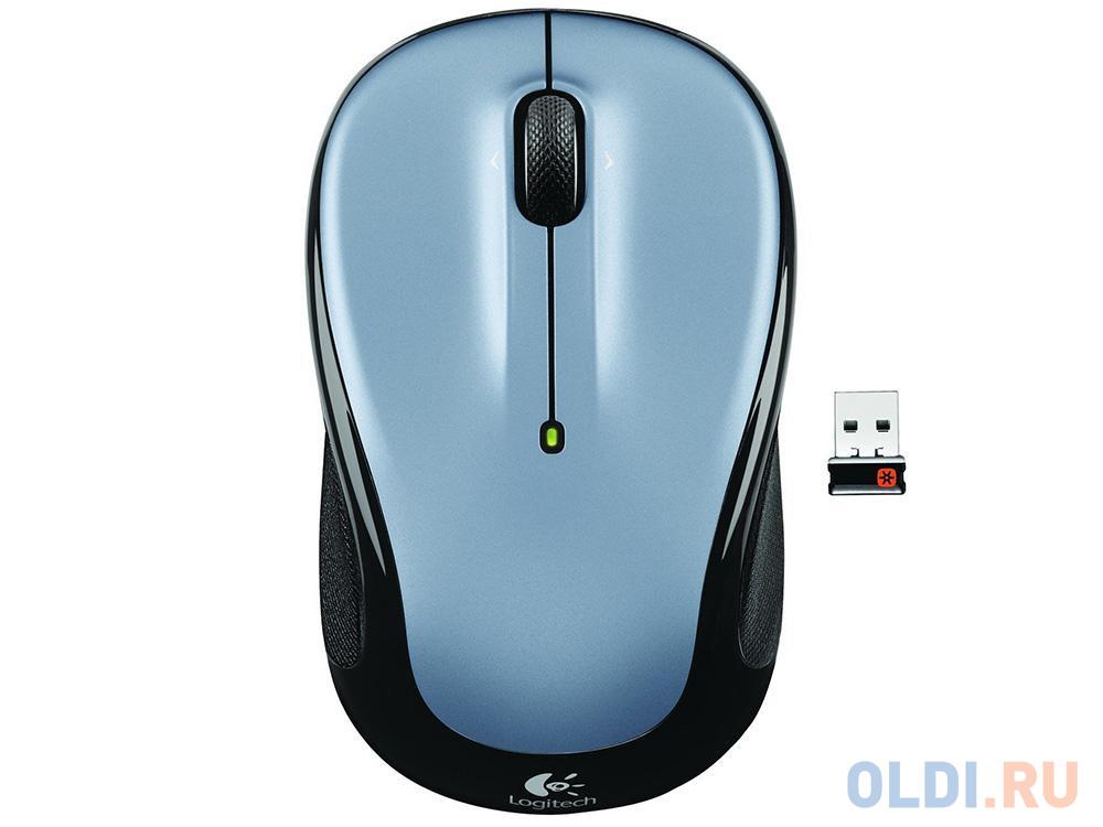 Мышь (910-002334) Logitech Wireless Mouse M325 Light Silver