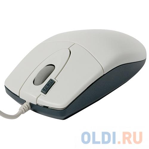 Мышь A4-Tech OP-620D White оптическая