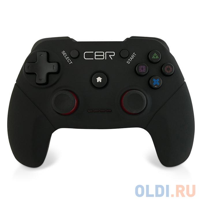 Фото - Геймпад CBR CBG 956 для PC/PS3/Android, беспроводной, 2 вибро мотора, USB геймпад cbr cbg 905 проводной usb черный