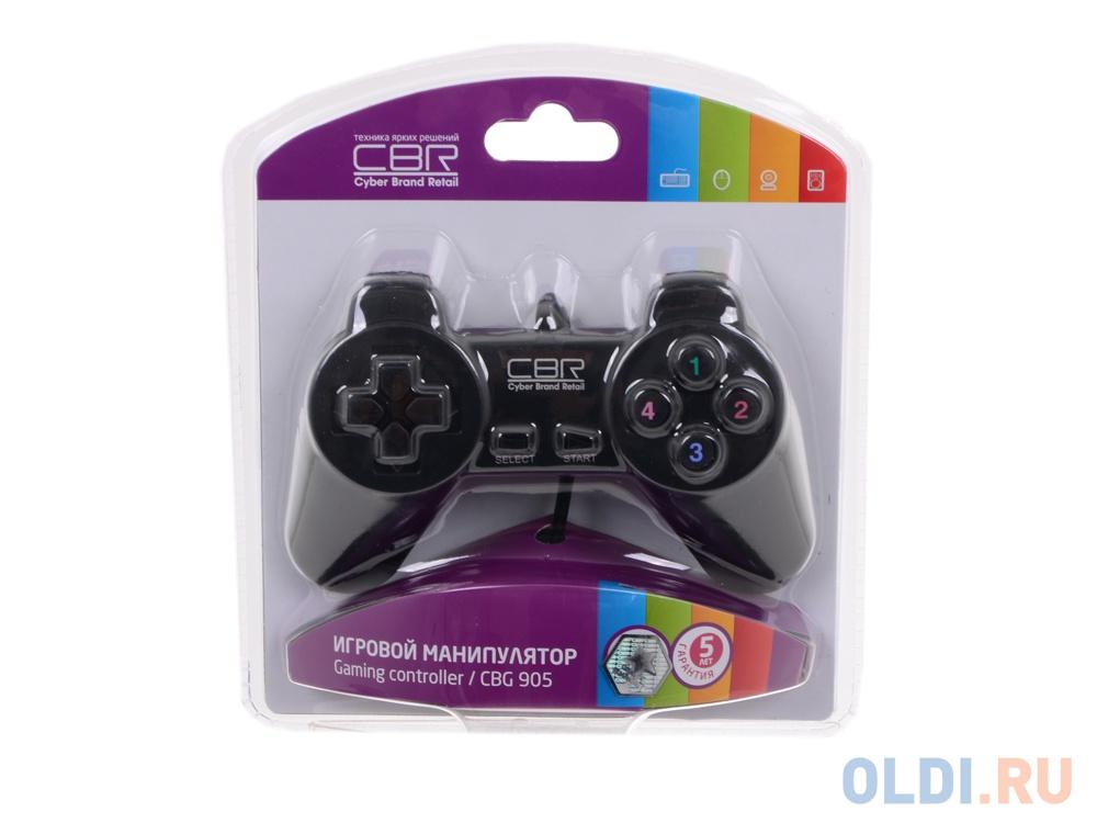 Фото - Геймпад CBR CBG 905 для PC, проводной, USB геймпад cbr cbg 905 проводной usb черный