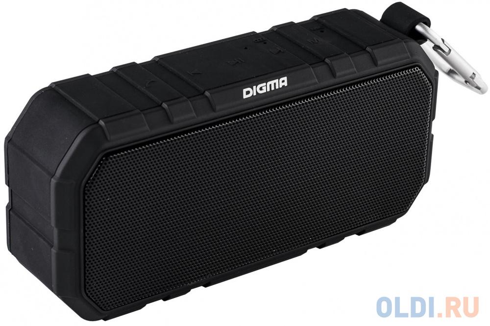 Портативная акустика Digma S-40 черный