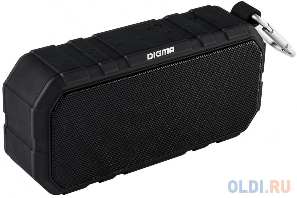 Портативная акустика Digma S-40 черный портативная акустика interstep sbs 110