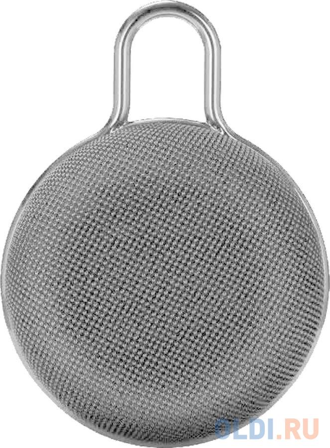 Колонка порт. Telefunken TF-PS1234B серебристый 5W 1.0 BT 10м (TF-PS1234B(СЕРЕБРО)) фото