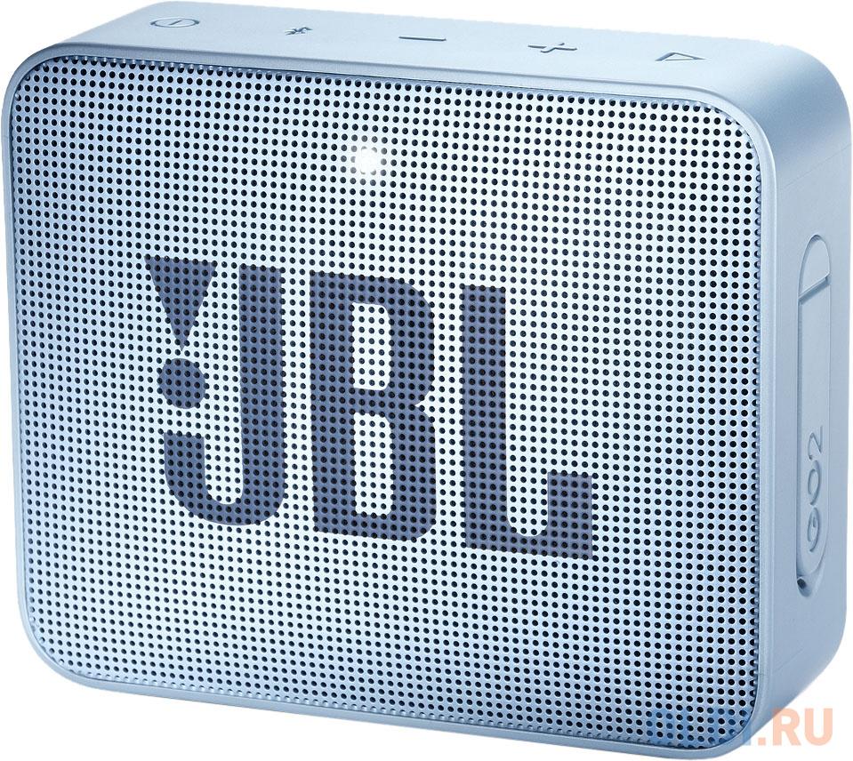 Динамик JBL Портативная акустическая система JBL GO 2 сине-зеленый jbl stage1 621