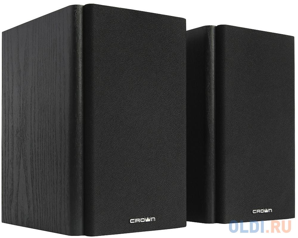 Акустическая система 2.0 CROWN CMS-505 (МДФ, 220V, 50W; управление Volume/Treble/Bass, кнопка включения, Длина кабеля между колонками 1м;Длина аудио-кабеля и питания 2м.,jack out) фото