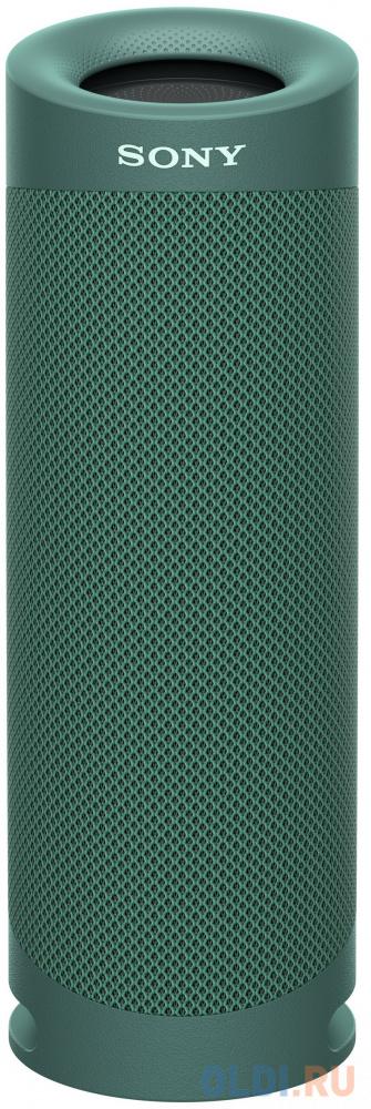 Колонка порт. Sony SRS-XB23 зеленый 2.0 BT (SRSXB23G.RU2) колонка порт sony srs xb01 синий 3w 2 0 bt 20м 600mah 1xaa без бат srsxb01l ru2