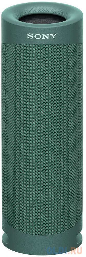 Колонка порт. Sony SRS-XB23 зеленый 2.0 BT (SRSXB23G.RU2) портативная колонка sony srs xb23 green
