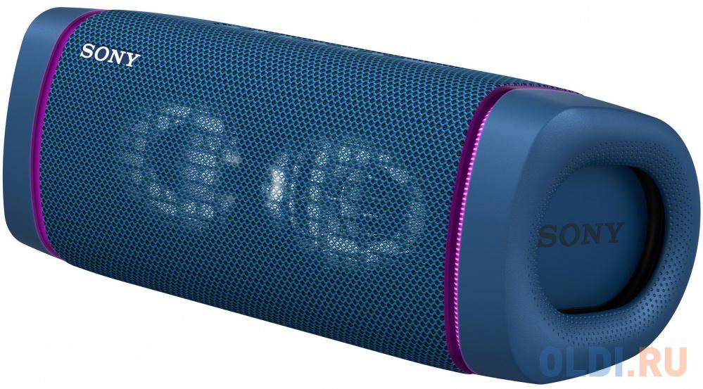 Колонка порт. Sony SRS-XB33 синий 2.0 BT 30м (SRSXB33L.RU2) колонка sony srs xb33 black