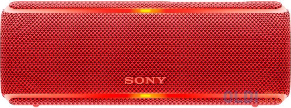 Колонка порт. Sony SRS-XB21 красный 14W 2.0 BT/3.5Jack 10м (SRSXB21R.RU2) колонка порт sony srs xb01 синий 3w 2 0 bt 20м 600mah 1xaa без бат srsxb01l ru2