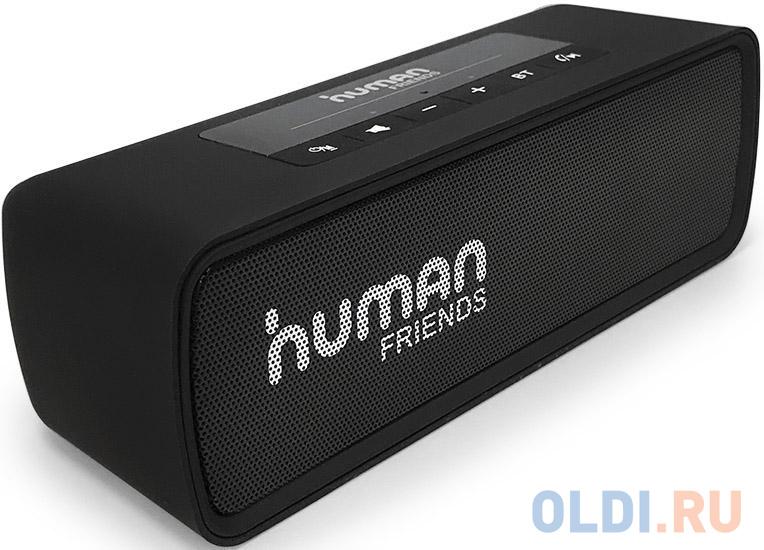 CBR Human Friends Easytrack {2х3 Вт, Bluetooth 4.2 , FM-радио, режим гарнитуры, 1200 мАч, цвет чёрный}