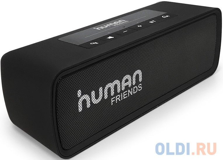 "CBR Human Friends Easytrack {2х3 Вт, Bluetooth 4.2 , FM-радио, режим ""гарнитуры"", 1200 мАч, цвет чёрный}"
