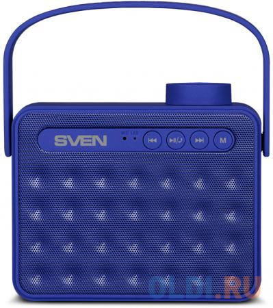Портативная колонка Sven АС PS-72 Blue портативная колонка sven ps 72 black