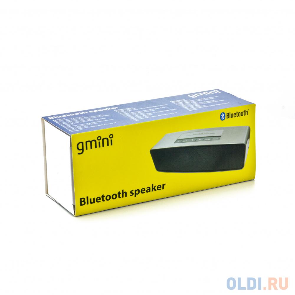 Портативная колонка Gmini GM-BTS-M21 Silver колонка supra bts 655
