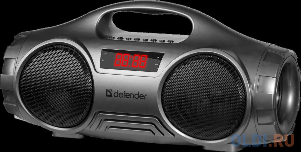 Фото - Колонки DEFENDER G100 (Портативная,Bluetooth 5.0,16Вт, FM/SD/USB) колонки defender x420 чёрный 2x12 вт 16 вт 20 20 000 гц bluetooth fm mp3 sd usb ду