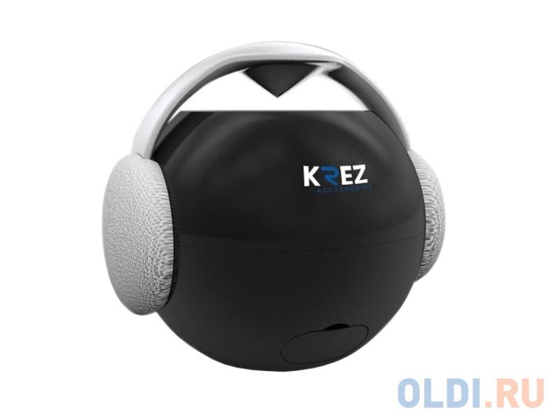 Портативная акустика Krez AB-111 черный портативная акустика interstep sbs 110