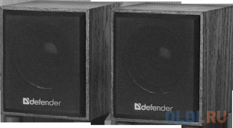 Колонки DEFENDER SPK-230 2.0 black (2x2 Вт, USB пит, раз. д. науш.)